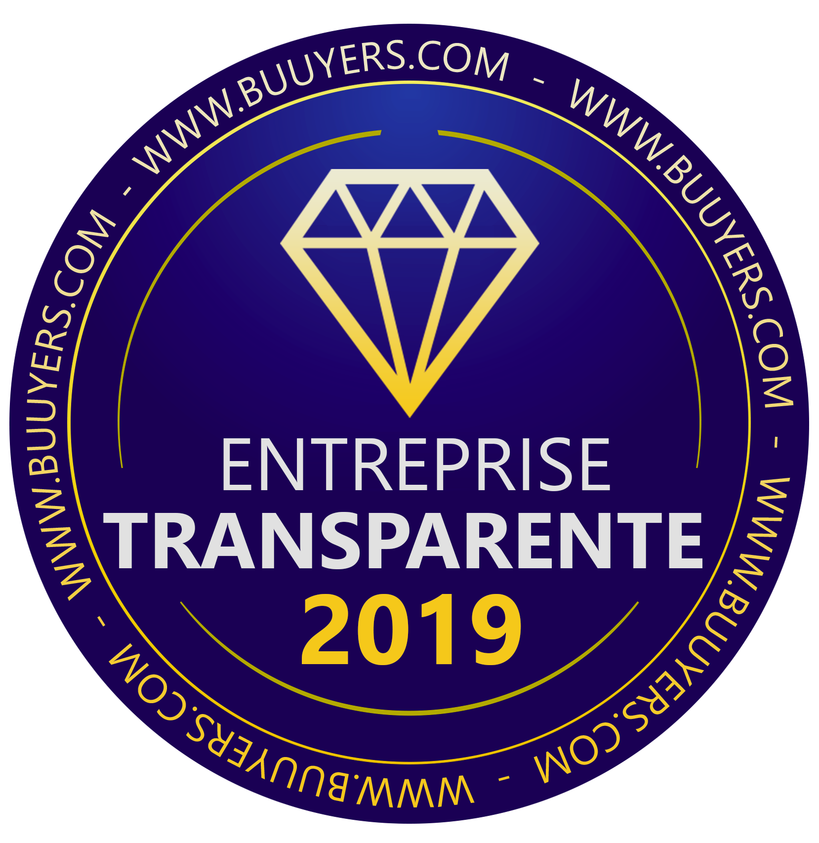 Label Entreprise Transparente Buuyers