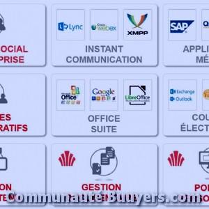 Logo 361 Degrés De Communication Application IOS / Android