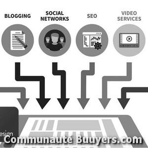Logo Bulles De Couleurs Création de sites internet