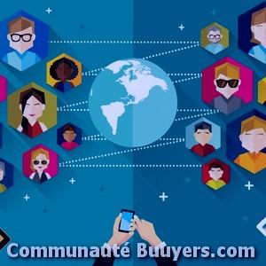 Logo Optimark Marketing digital