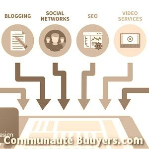 Logo Référencement Page1 Marketing digital
