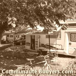 Logo Gervanne Camping