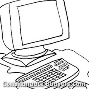 Logo Création Réseau Internet Programmation