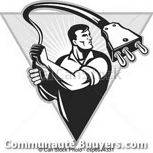 Logo Electricité Brouchaud bon artisan pas cher
