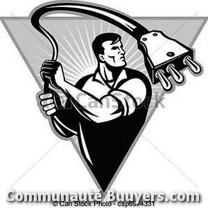 Logo Electricité Coutençon Urgence électricité
