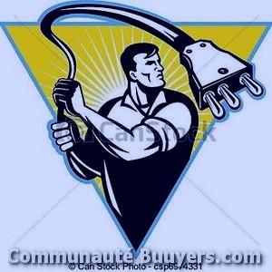 Logo Electricité Vaunoise