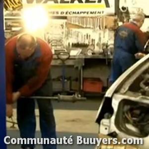 Logo Garage Maintenance Auto