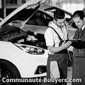 Logo Renault Bonvin Lecourbe Automobile  Agent