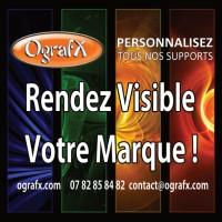 Logo OgrafX - l'objet de com