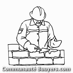 Logo D.P Constructions (Sarl)