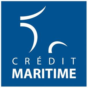 Logo Crédit Maritime Mutuelle du Littoral du Sud Ouest