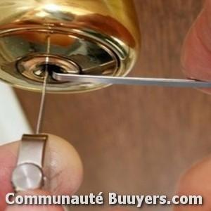 Logo Serrurerie, métallerie Chaugey bon artisan pas cher