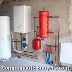 Logo Chauffservice Installation de chaudière gaz condensation