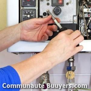 Logo Dépannage chauffage Simorre Installation de chauffage chaudière