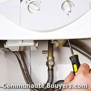 Logo Entreprise Dominique Rousseau (sarl) Installation de chaudière gaz condensation