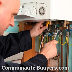 Logo L.b Confort Plus Installation de chaudière gaz condensation