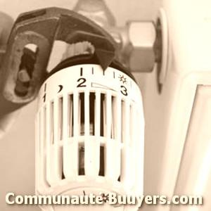 Logo Psd Dépannage de chauffe-eau à gaz