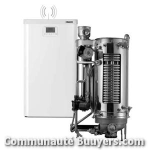 Logo Pyretherm Installation de chaudière gaz condensation