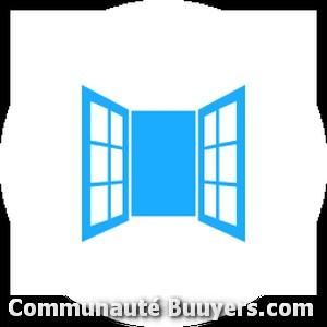 Logo D.enault Travaux de vitrerie et miroiterie