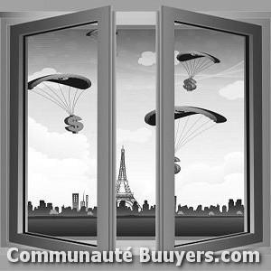 Logo Vitrerie Échassières Pose de vitres et miroires